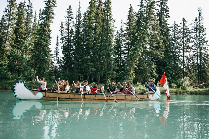 Banff National Park Big Canoe Tour photo 8