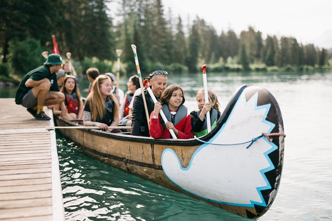 Banff National Park Big Canoe Tour photo 9
