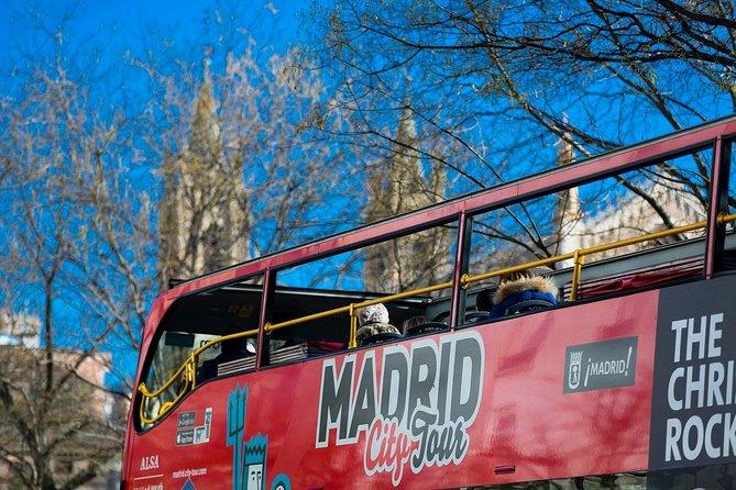 Madrid City Tour Hop-On Hop-Off and Bernabeu Stadium