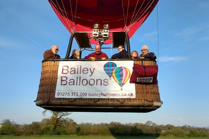 Exclusive Hot Air Balloon Flight from Bristol