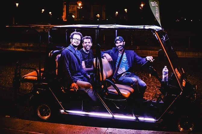 Paris By Night Tour: 2h / 5 pers