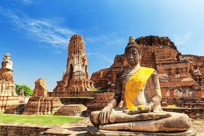 AMAZING Ayutthaya Ancient Temples Day Trip By Road From Bangkok