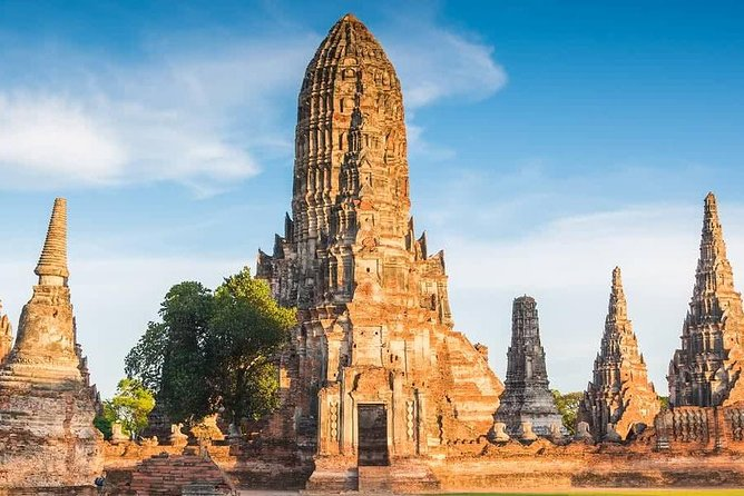 Ayutthaya Full Day Tour with Traditional Lunch by River Cruise (Grand Pearl)