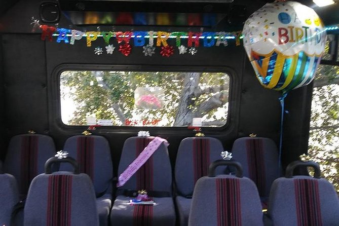 21 Passenger Bus Tours Weddings and all Wine Country Events