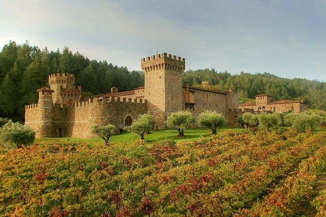 Napa and Sonoma Combo Wine Tour Including Castello Di Amorosa Winery