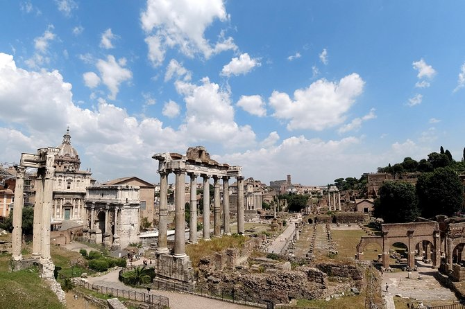 Rome Historical Sites Guided Tour with Roman Forum Access