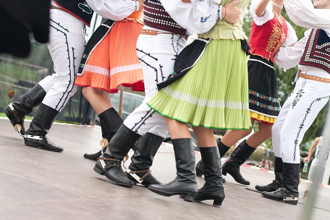 Traditional Czech Folklore Show,Meal and Private Prague Tour