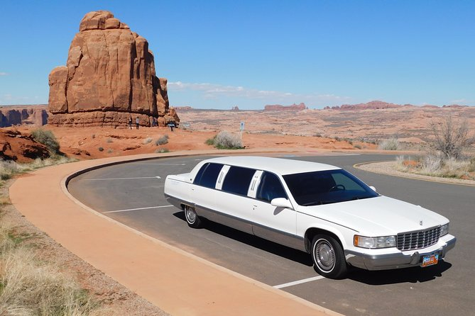 Mighty 5 National Parks 5-Day Limousine Road Based Tour from Salt Lake City