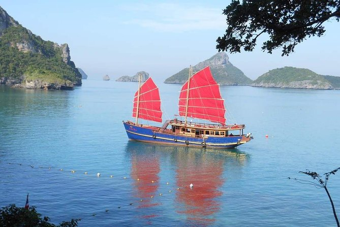 The Red Baron Luxury Yacht Cruise from Koh Samui with Return Transfer