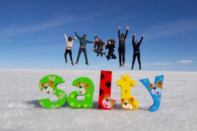 Uyuni Salt Flat 1 day in Spanish (shared)
