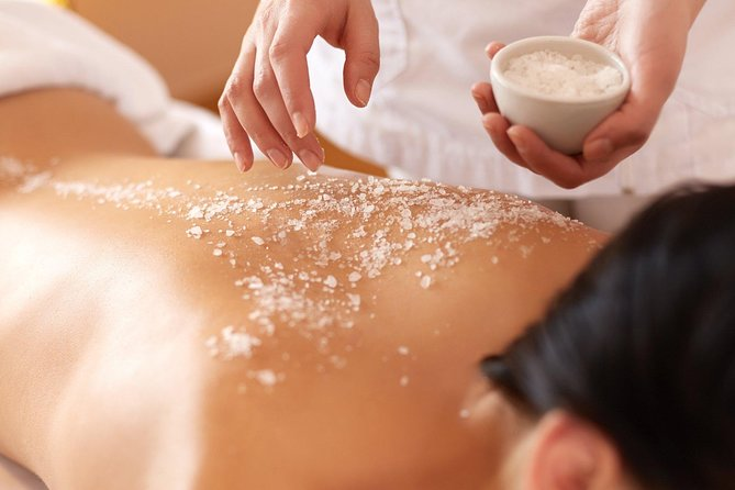 1 Hour The Home Body Scrub with four optional - Free Transportation