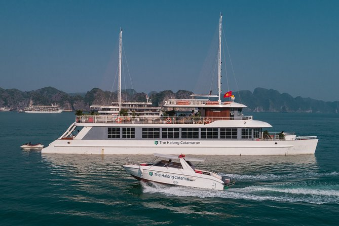 Luxury Full Day Cruise in Ha Long Bay & Lan Ha Bay From Ha Noi