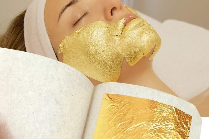 1 Hour The Home Pure Gold Facial Beauty - Free Transportation