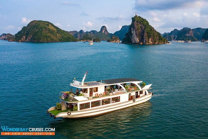 Halong Bay Full Day with Wonder Bay Crusie-Limousine transfer Expressway