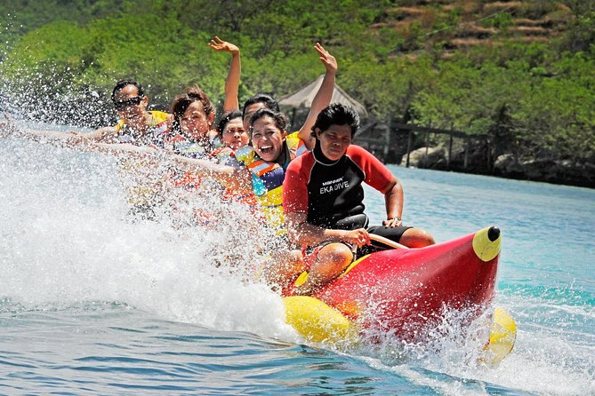 Watersports Benoa Beach & Uluwatu Tour with Handicraft Centre