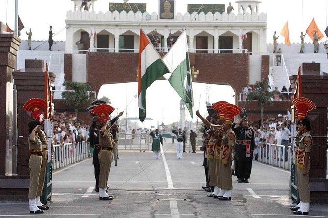 Flag Lowering Ceremony at Attari from Amritsar