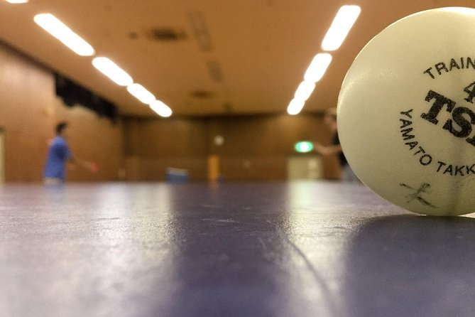 Table Tennis in Osaka with local players!