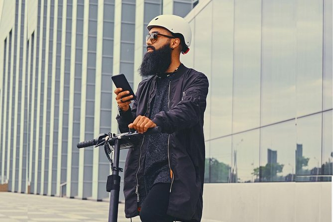Stockholm E-Scooter Tour with App Guide - 5 Hours