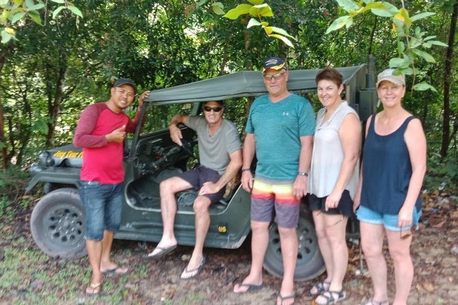 Discover Phu Quoc national forest by Jeep Car