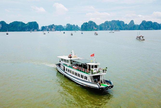 Ha Long Bay One Day Tour - Cruise,Expressway Transfer,Kayaking,Titov Island