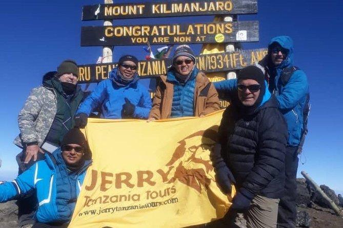 9 Days Northern Circuit Route Kilimanjaro