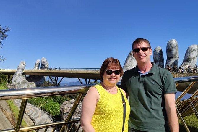 Small Group Shore Excursion to Visit GOLDEN BRIDGE BA NA HILLS via Cable Car