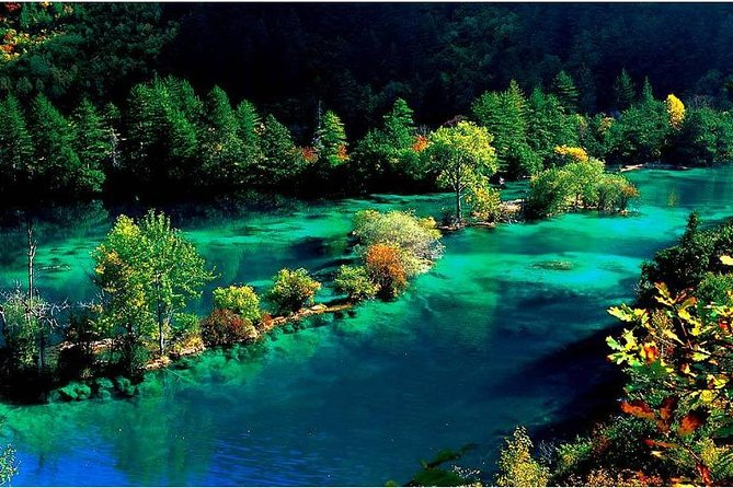 4-Day Private Tour:Jiuzhaigou and Huanglong National Park by Car from Chengdu