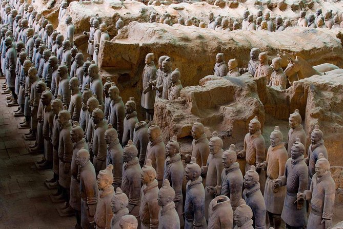 All Inclusive Private 2-Day Tour of Xi'an Highlights from Shanghai with Hotel