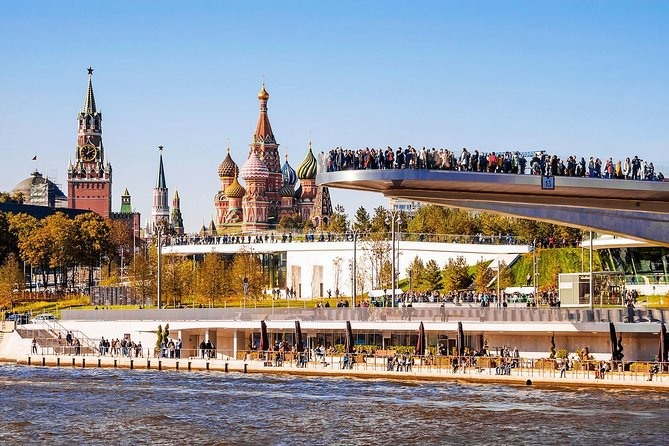 Panoramic Private Tour of Moscow in a Soviet minivan