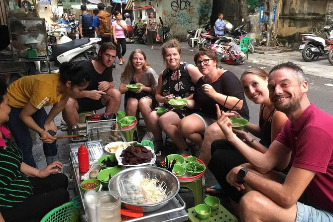 Tasting 7 Different Hanoi Street Foods + Local Drinks at Day Time by Walking