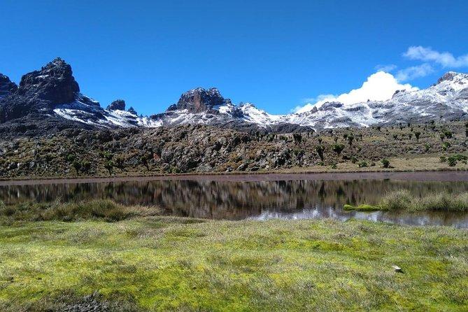Mount Kenya 4 Days/ 3 nights guided trek - Sirimon Route