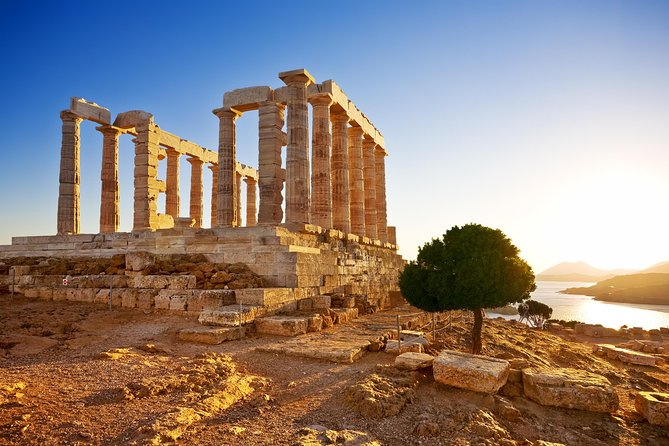 Athens Half Day Tour to Cape Sounio, Athenian Riviera and Temple of Poseidon