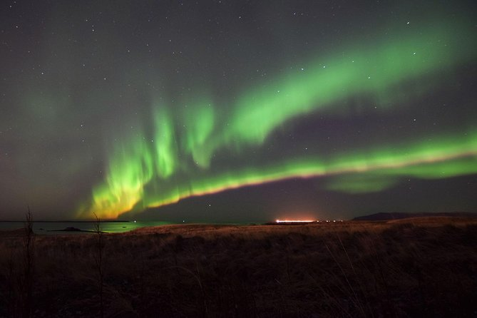 Northern Lights Expedition on Viðey island