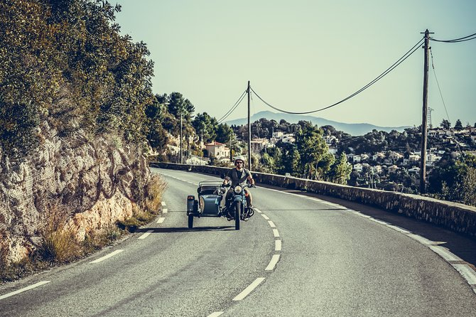 Unusual off-the-beaten-track tour by Ural sidecar from Nice 45 min
