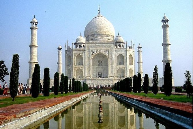 Full-Day Agra Guided Tour from New Delhi: Taj Mahal, Agra Fort