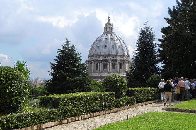 Vatican Gardens, Vatican Museums, Sistine Chapel and Basilica Tour