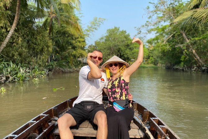 Exploring Cai Rang floating market, Cacao farm and the hidden small canal