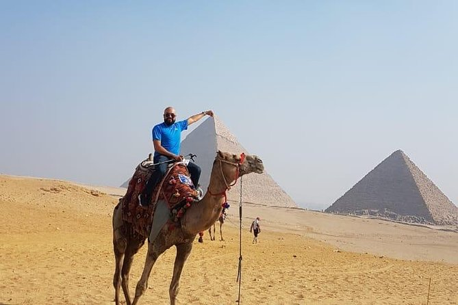 8-Hour Private Tour Giza Pyramid,Sphinx,Egyptian Museum,Bazaar Camel Ride lunch