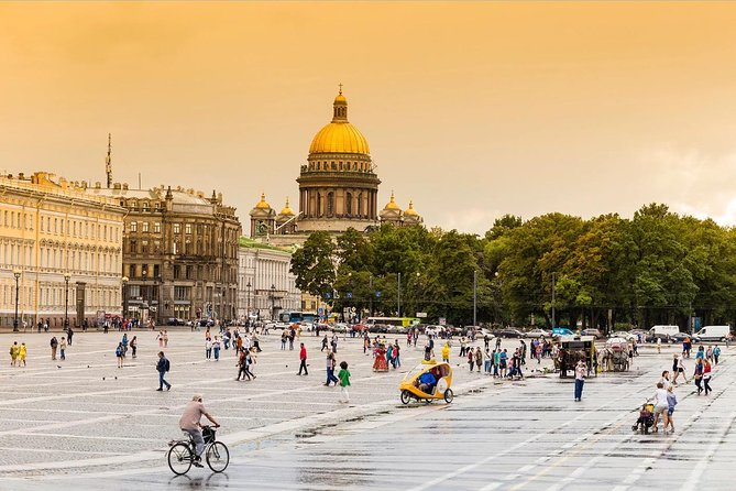Flexible 1-Day Shore Excursion in St Petersburg with Boat Ride