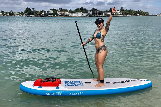 Paddle Board Rental at Shoreside Club