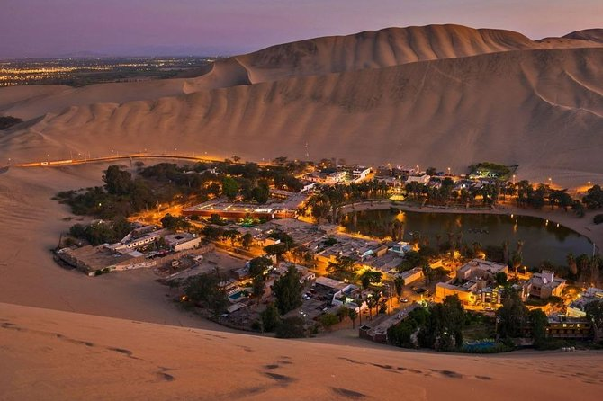 Full day tour to The Huacachina Oasis and The Nazca Lines overflight