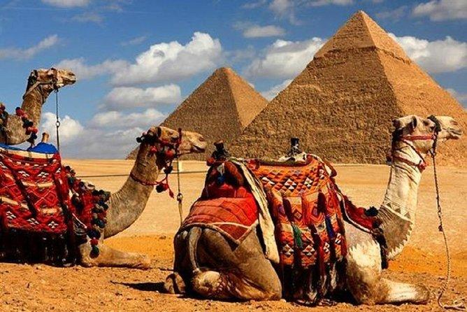 Giza Pyramids, Sphinx, Saqqara, Dahshur