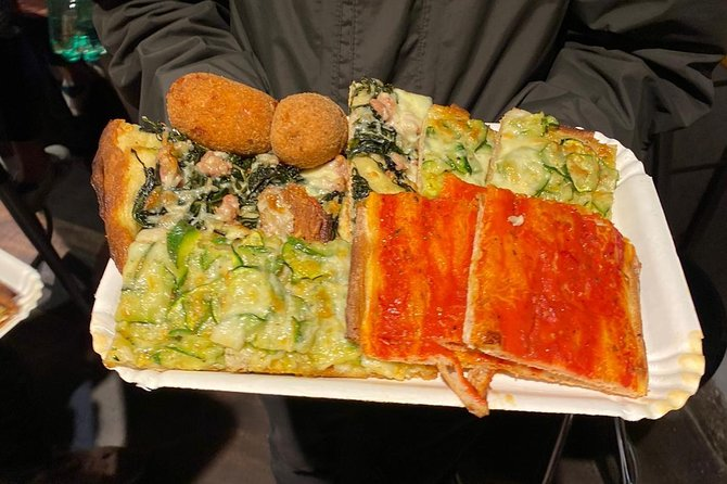 Fully Loaded Food Tour in Rome
