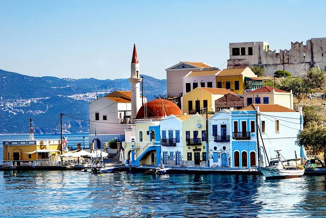 Greek island of Megisti (Kastellorizo) from Antalya and regions