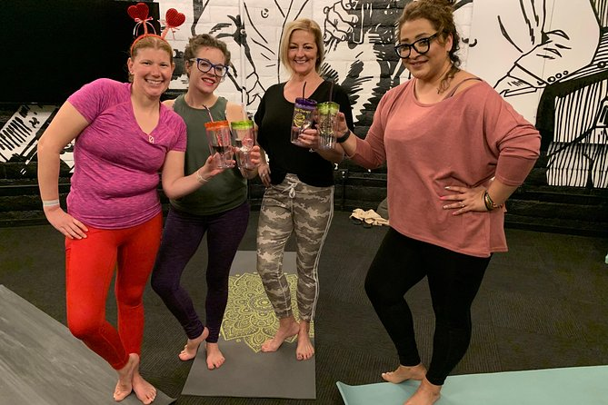 Yoga Uncorked at Artisan Hotel near Las Vegas Strip
