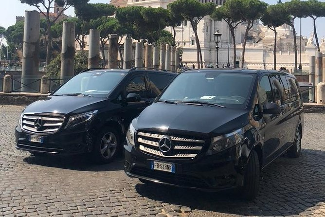 Fiumicino or Ciampino Airport to/from Downtown Rome or your Hotel