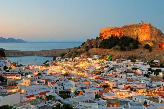 Rhodes island from Antalya and regions