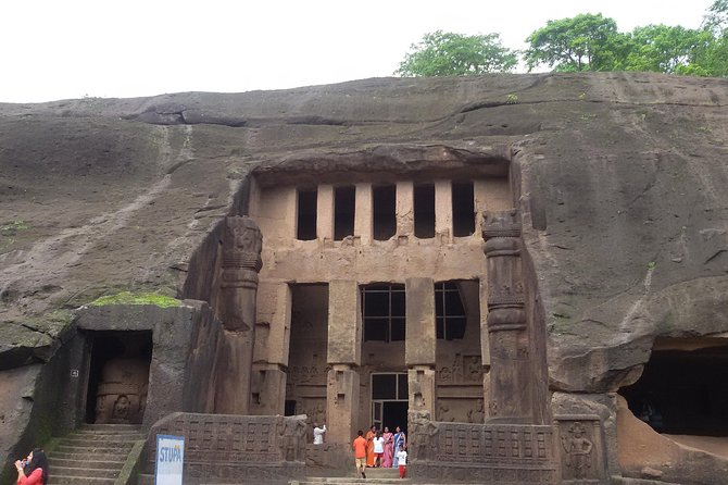 Kanheri Caves Guided Tour from Mumbai in a Private Car