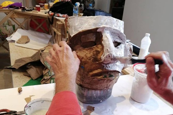 Paper Mache Class with an Artisan