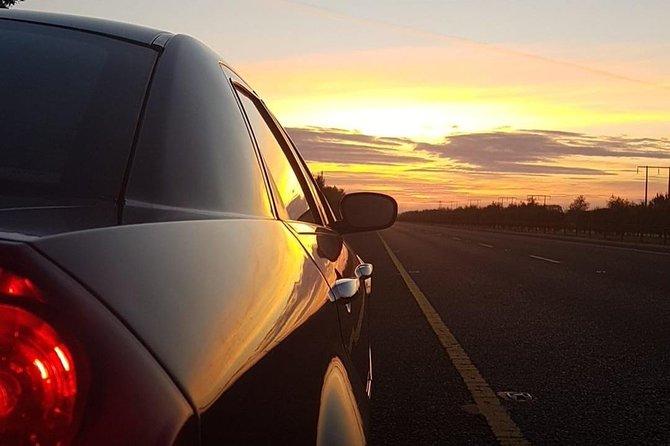 Shannon Airport- Ashford-Private Chauffeur Transfer . Premium Sedan